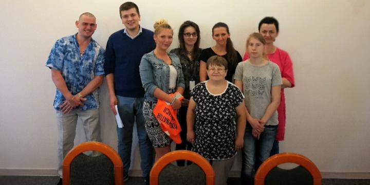 Spotkanie z pracownikami SUEZ Polska